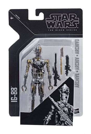 Star Wars The Black Series Archive Line 2019 Wave 1 IG-88 Action Figure